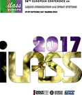 ILASS EUROPE. 28TH EUROPEAN CONFERENCE ON LIQUID ATOMIZATION AND SPRAY SYSTEMS.