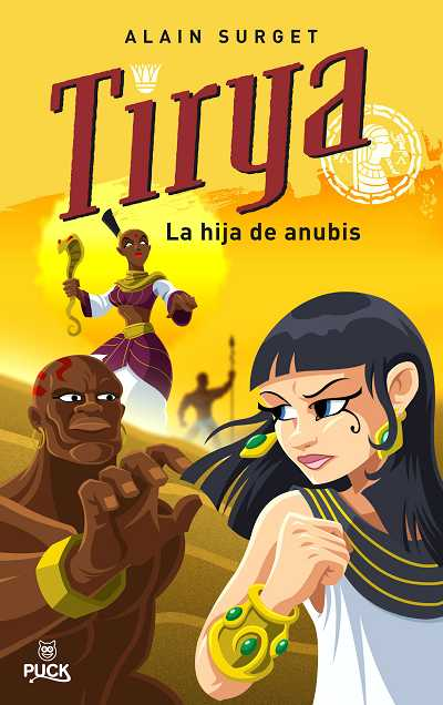 TIRYA, LA HIJA DE ANUBIS