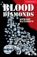 BLOOD DIAMONDS LEVEL 1 BEGINNER/ELEMENTARY BOOK WITH AUDIO CD PACK