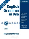(3º) ENGLISH GRAMMAR IN USE. INTERMEDIATE.. WITH ANSWERS AND CD-ROM.