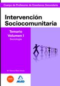 CUERPO DE PROFESORES DE ENSEÑANZA SECUNDARIA. INTERVENCIÓN SOCIOCOMUNITARIA. TEM.