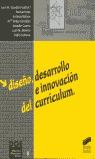 DISEÑO DESARROLLO E INNOVACION DEL CURRICULUM