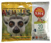 PACK AHORRO 20 SOBRES ANIMALES 2020.