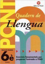 PONT LLENGUA 6ºEP CANVI DE CURS