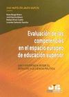 EVALUACIÓN DE LAS COMPETENCIAS EN EL ESPACIO EUROPEO DE EDUCACIÓN SUPERIOR : UNA EXPERIENCIA DE