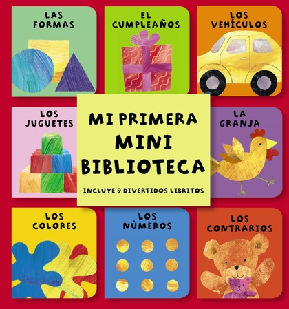 MINIBIBLIOTECA. MI PRIMERA MINI BIBLIOTECA