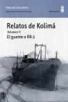 RELATOS DE KOLIMÁ V. EL GUANTE O RK-2