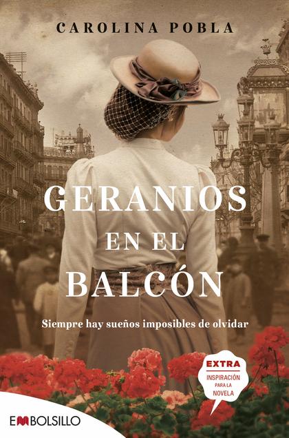 GERANIOS EN EL BALCON.