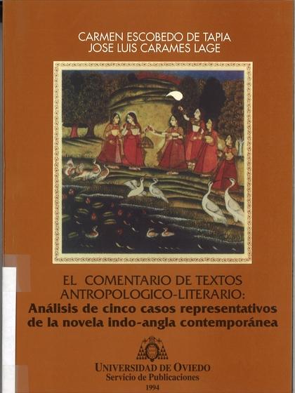 COMENTARIO DE TEXTOS ANTROPOLÓGICO-LITERARIO, EL