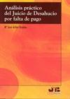 ANÁLISIS PRÁCTICO DEL JUICIO DE DESAHUCIO POR FALTA DE PAGO