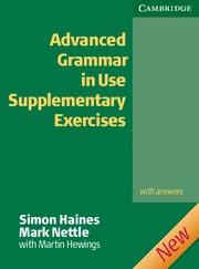 ADVANCED GRAMMAR USE SUPL EXERCISES KEY