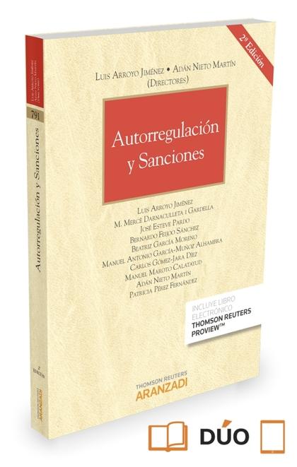 AUTORREGULACIÓN Y SANCIONES (PAPEL + E-BOOK).