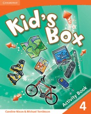 KID´S BOX ACTIVITY BOOK 4º PRIMARY