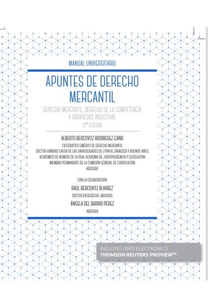APUNTES DE DERECHO MERCANTIL.