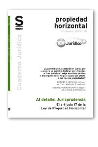 EL ARTÍCULO 17 DE LA LEY DE PROPIEDAD HORIZONTAL.