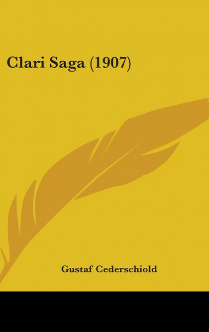 CLARI SAGA (1907)