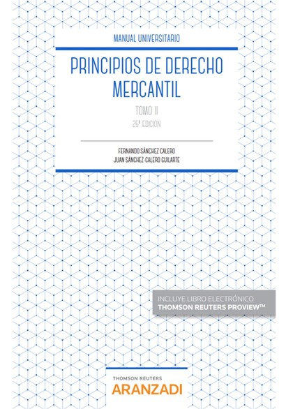 PRINCIPIO DE DERECHO MERCANTIL.