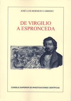 DE VIRGILIO A ESPRONCEDA