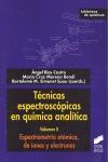ESPECTROMETRÍA ATÓMICA, DE IONES Y ELECTRONES.