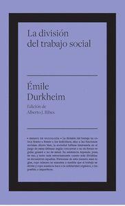 LA DIVISIÓN DEL TRABAJO SOCIAL.