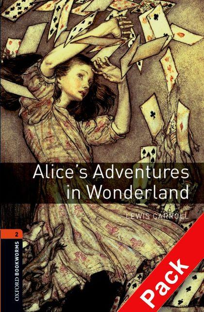 ALICE´S ADVENTURES IN WONDERLAND.BOOKWORMS 2