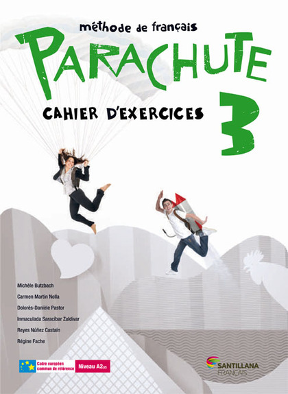 PARACHUTE 3 PACK CAHIER D´EXERCICES.