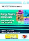 CUERPO TÉCNICO DE HACIENDA.AGENCIA ESTATAL DE ADMINISTRACIÓN TRIBUTARIA. TEMARIO.