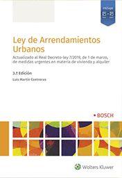 LEY DE ARRENDAMIENTOS URBANOS 3ª ED.