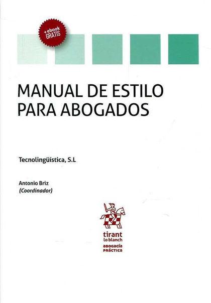 MANUAL DE ESTILO PARA ABOGADOS.