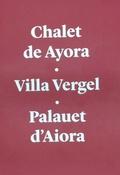 CHALET DE AYORA.VILLA VERGEL.PALAUET D´AIORA.. ESTUDI MONOGRÀFIC DE CARÀCTER ARQUITECTÒNIC I HI