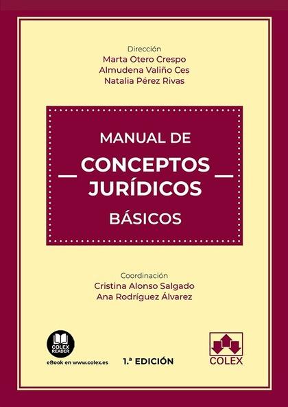 MANUAL DE CONCEPTOS JURÍDICOS BÁSICOS.