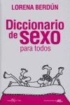 DICCIONARIO DE SEXO PARA TODOS