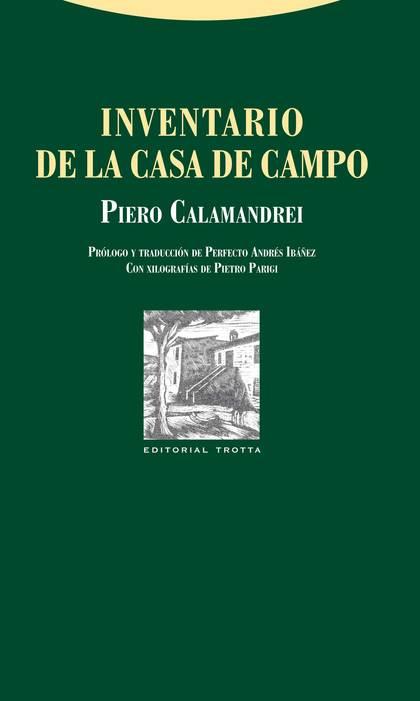 INVENTARIO DE LA CASA DE CAMPO