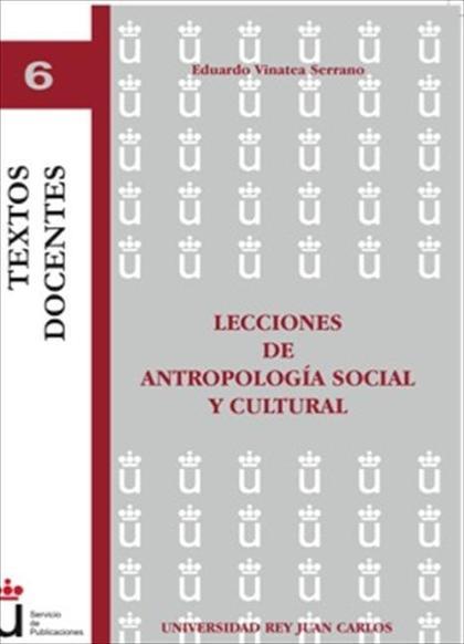 Lecciones de antropologia social y cultural