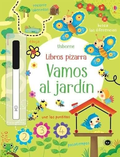 EL JARDIN LIBROS PIZARRA