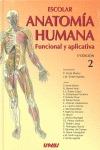 ESCOLAR. ANATOMIA HUMANA (VOL.2).