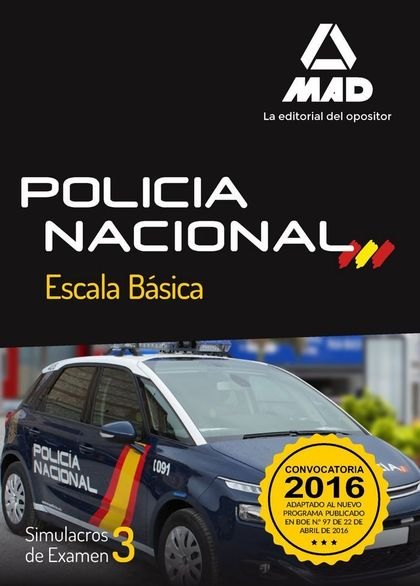 POLICÍA NACIONAL ESCALA BÁSICA SIMULACROS DE EXAMEN 3