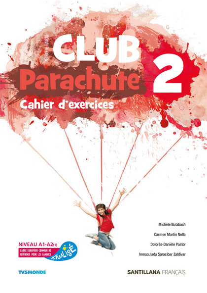 CLUB PARACHUTE 2 PACK CAHIER D´EXERCICES.