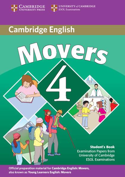 CAMBRIDGE MOVERS 4 STUDENTS BOOK     FOR CAMBRIDGE EXAMS
