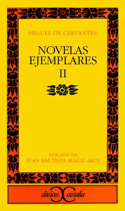 NOVELAS EJEMPLARES, II.