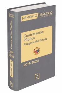 MEMENTO CONTRATACIÓN PÚBLICA (ABOGACÍA DEL ESTADO) 2019-2020.