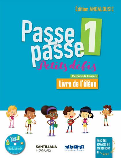 PASSE PASSE-PETITS DEFIS 1 ELEVE+CD ANDA.