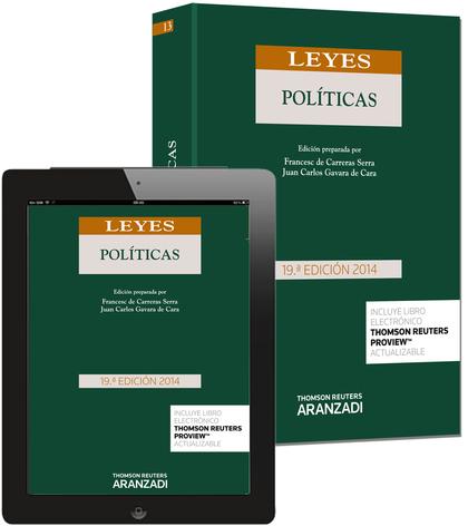 LEYES POLÍTICAS (PAPEL + E-BOOK).