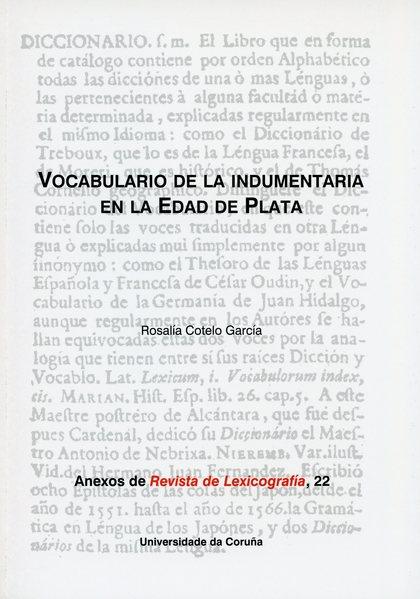 VOCABULARIO DE LA INDUMENTARIA EN LA EDAD DE PLATA
