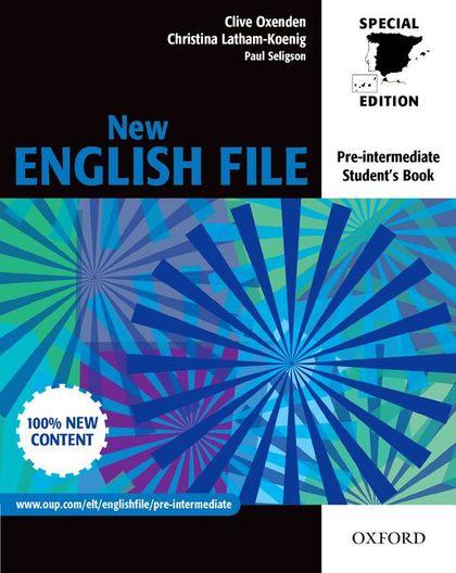 NEW ENGLISH FILE PRE INTERMEDIATE STUDENT BOOK
