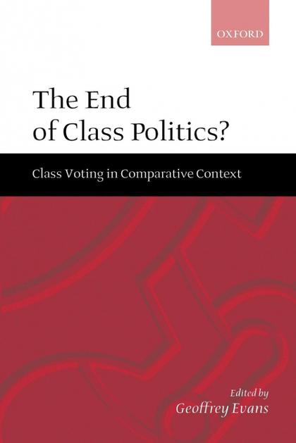 THE END OF CLASS POLITICS?