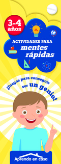 ACTIVIDADES PARA MENTES RAPIDAR (3-4 AÑOS).