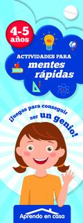 ACTIVIDADES PARA MENTES RAPIDAR (4-5 AÑOS).
