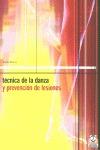 TECNICA DE LA DANZA PREVENCION DE LESIONES