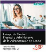 CUERPO GESTION PROCESAL Y ADMINISTRATIVA JUSTICIA LIBRE 6